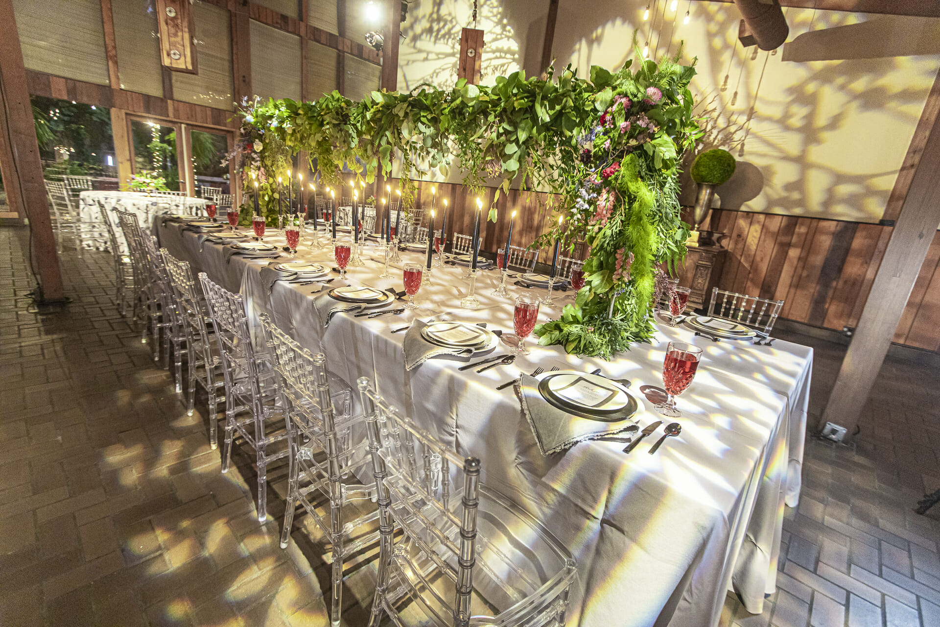 Secret Garden Room Wedding Reception